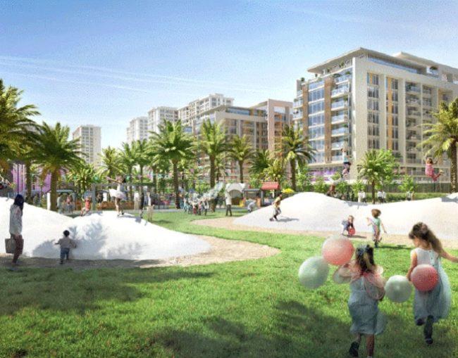 Dubai Hills Park at Dubai Hills Estate - Playground