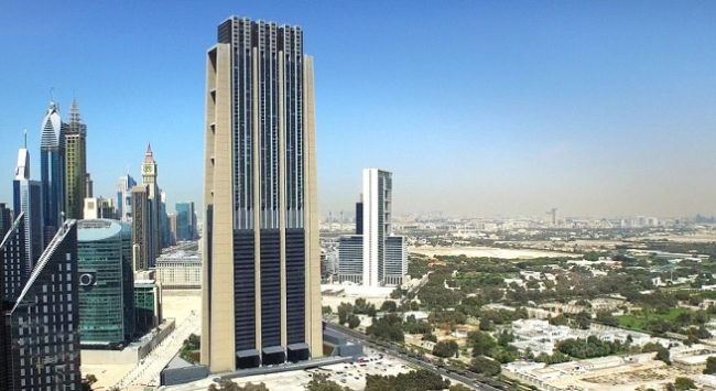 The Index Tower at DIFC Dubai International Financial Centre