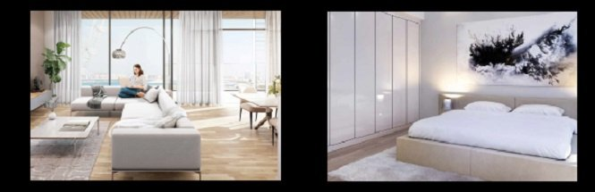 Blue Waters Island - Ain Dubai - Meraas - Building 10 - Ready to Move In Apartments Interior