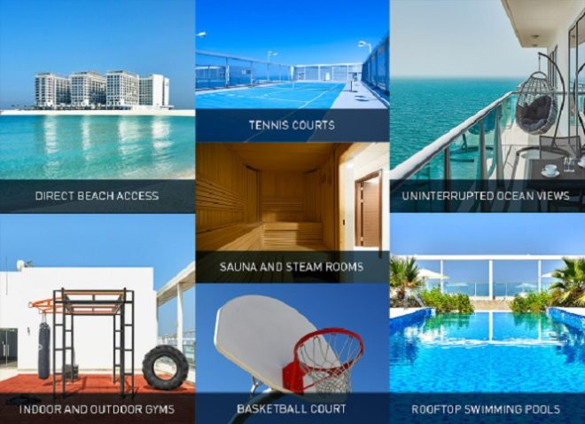Pacific Al Marjan RAK Ras Al-Khaimah Ready Beachfront Properties for Sale