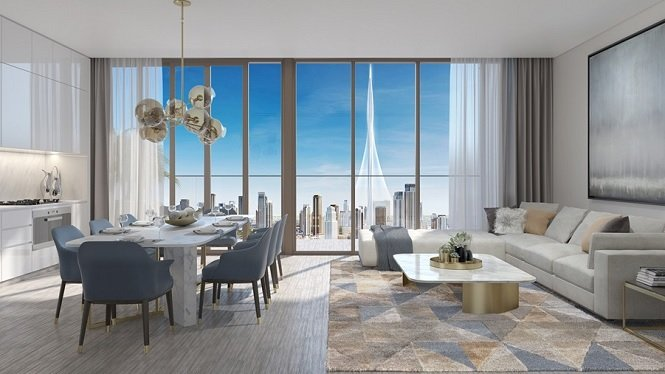 Palace Residences at Dubai Creek Harbour by Address Hotels and Resorts Interior