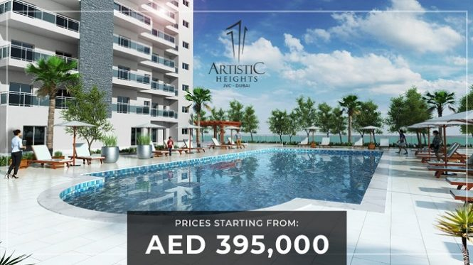 Artistic Heights at JVC Dubai Apartments for Sale