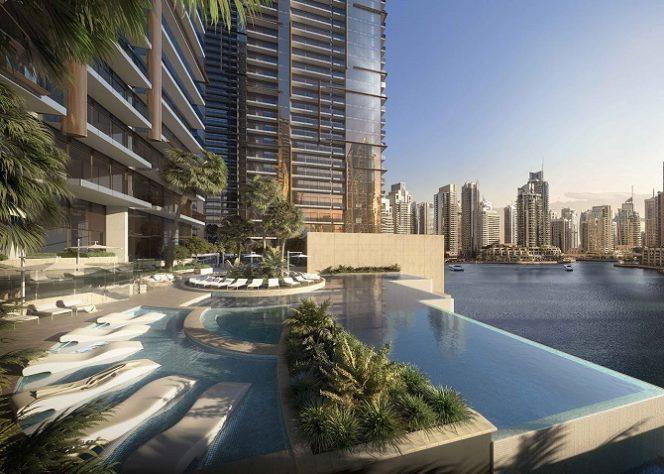 Jumeirah Living Marina Gate - Infinity Pool