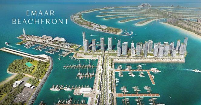 Emaar Beachfront Island - Dubai
