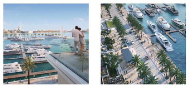 Mina Rashid - SIRDHANA - Views of Dubai Marina and Dubai Skylnie