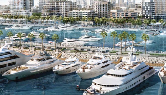 Mina Rashid Waterfront Development by Emaar