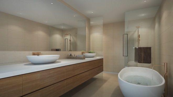 Q Gardens by AVS Developers - Arjan Dubai Bathroom