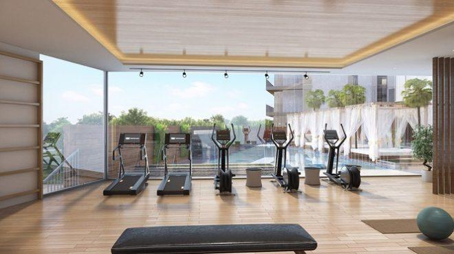 Q Gardens by AVS Developers - Arjan Dubai - Gym