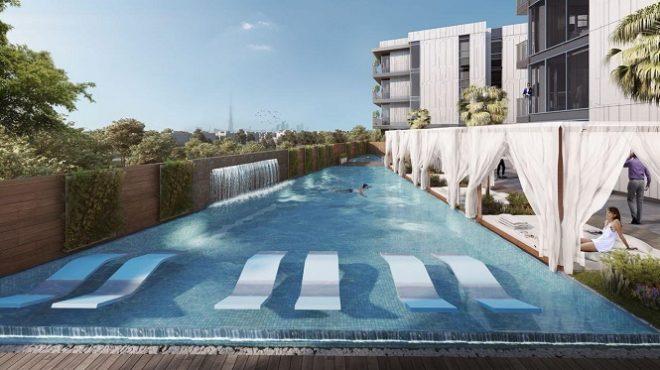 Q Gardens by AVS Developers - Arjan Dubai Swimming Pool