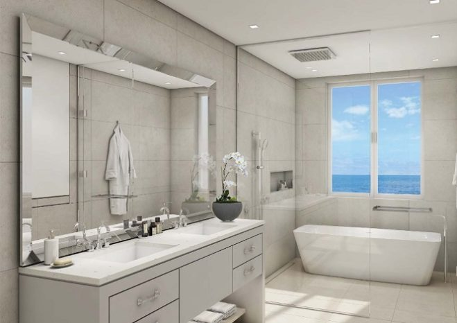 Sur La Mer Townhouses by Meraas in Jumeirah Bathroom