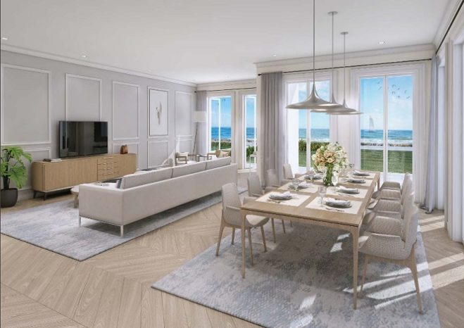 Sur La Mer Townhouses by Meraas in Jumeirah Living and Dining