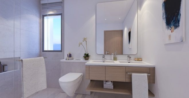 La Rosa - Villanova Dubai. Bathroom
