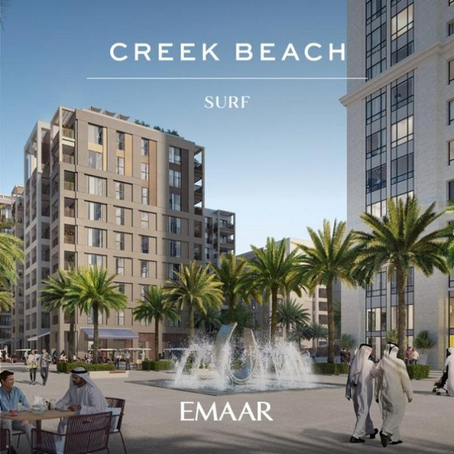 Surf at Creek Beach by Emaar