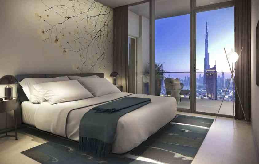 Downtown Views 2 by Emaar luxury apartments - Bedroom