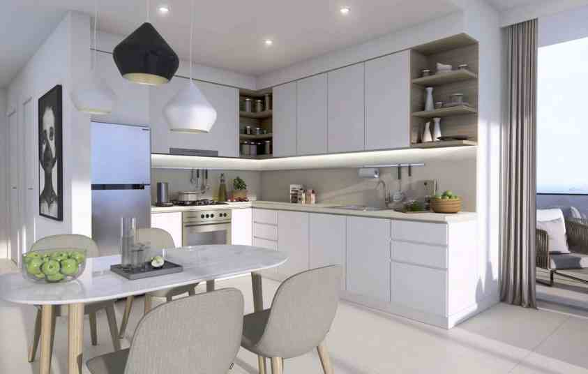 Downtown Views 2 by Emaar luxury apartments - Kitchen