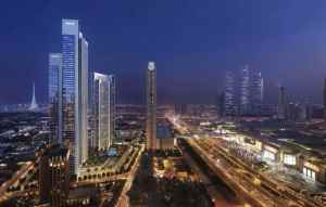 Downtown Views II by Emaar in Downtown Dubai. Luxury apartments for sale