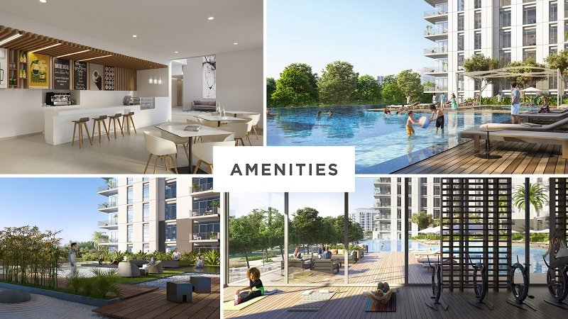 Park Ridge Apartments at Dubai Hills Estate by Emaar - Amenities