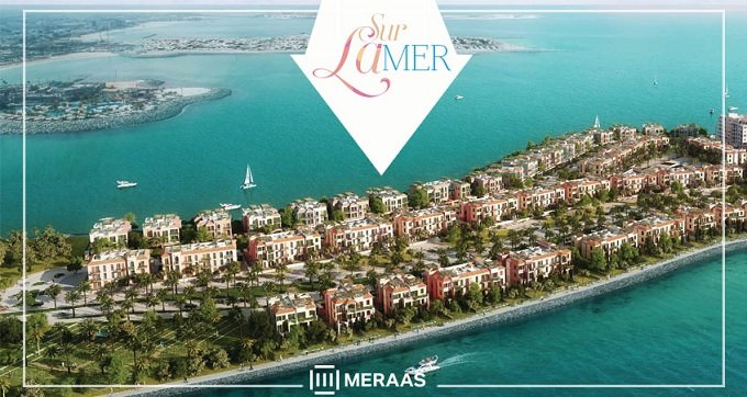Sur La Mer Beach townhouses by Meraas