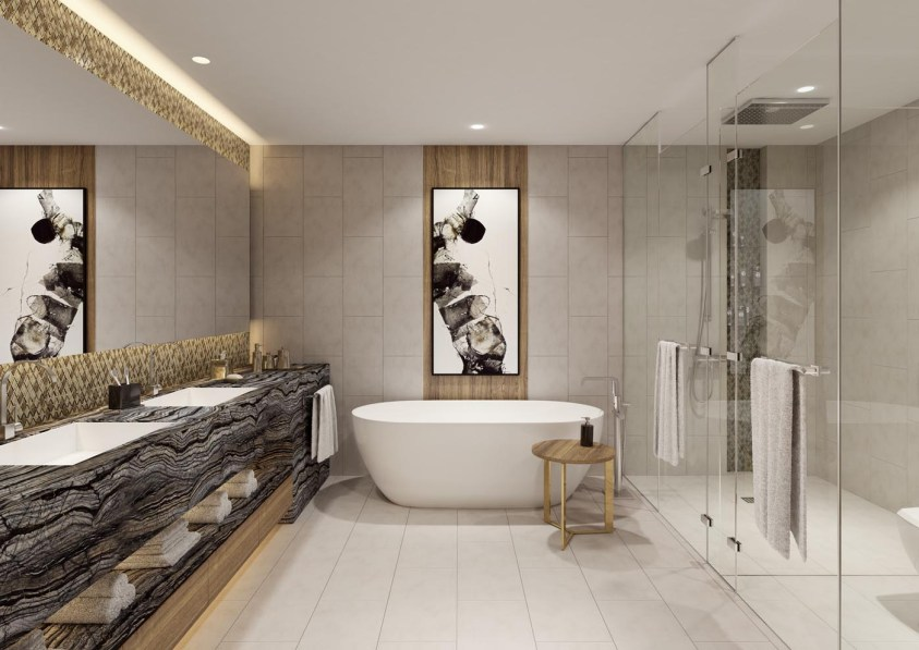 Jumeirah Living Marina Gate - Bathroom Master Bedroom