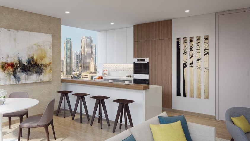 Jumeirah Living Marina Gate - Interior Living Room and Hall