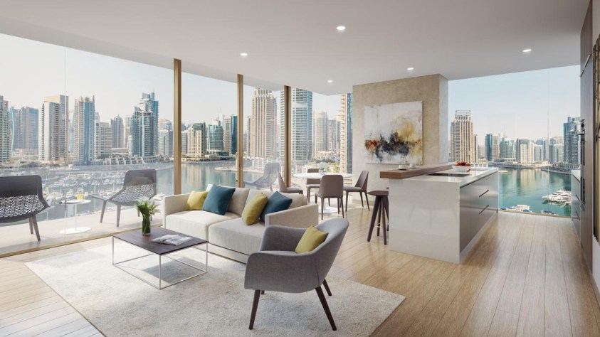 Jumeirah Living Marina Gate - Interior Living Room