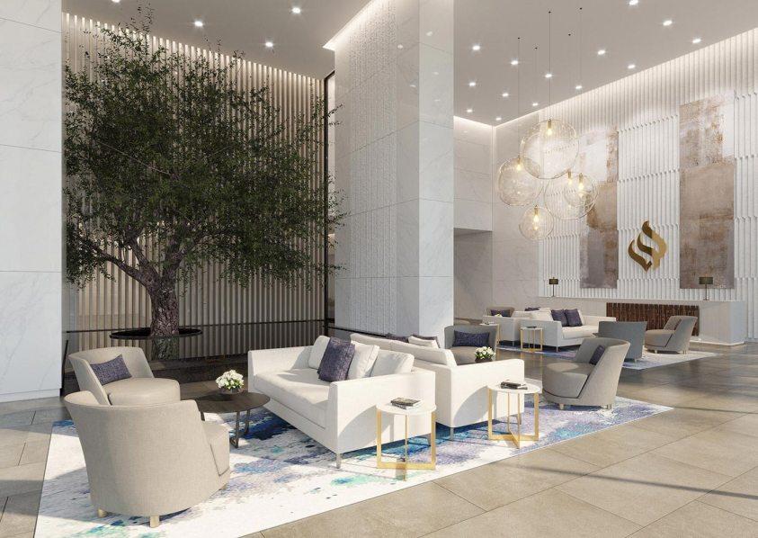 Jumeirah Living Marina Gate - Lobby