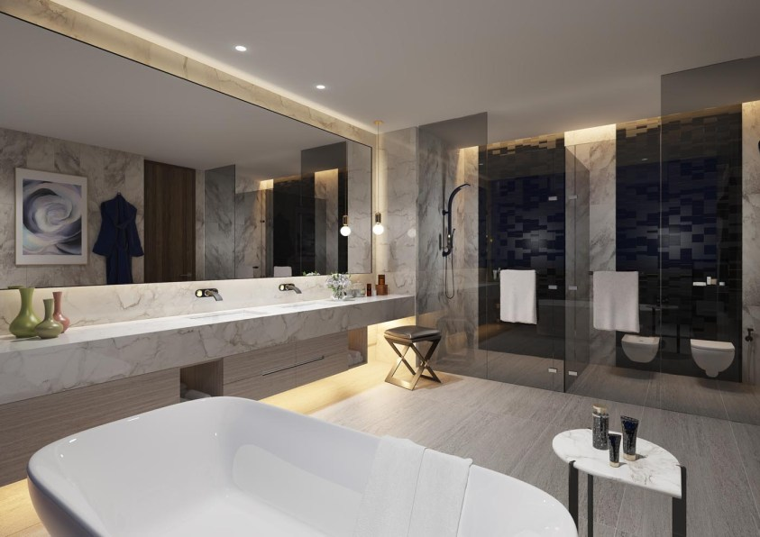 Jumeirah Living Marina Gate - Master Bathroom