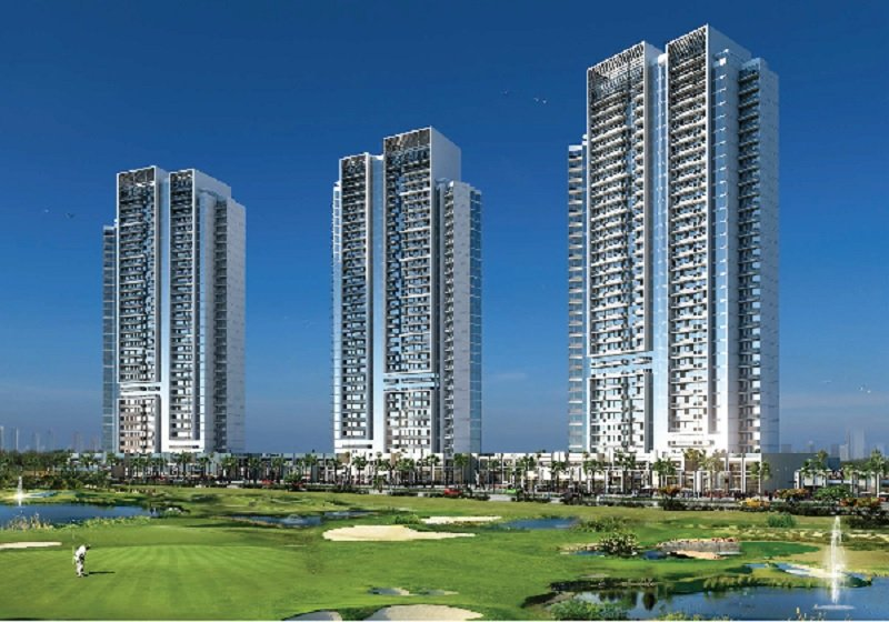 Bellavista at Damac Hills Luxurious Apartments - Facing Golf