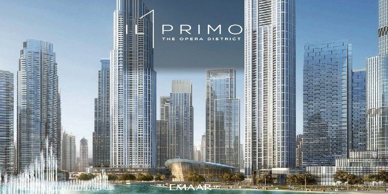 IL Primo Emaar Tower luxurious residential apartments downtown dubai burj khalifa