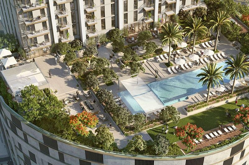 Burj Crown - Emaar Dubai Downtown Swimming Pool