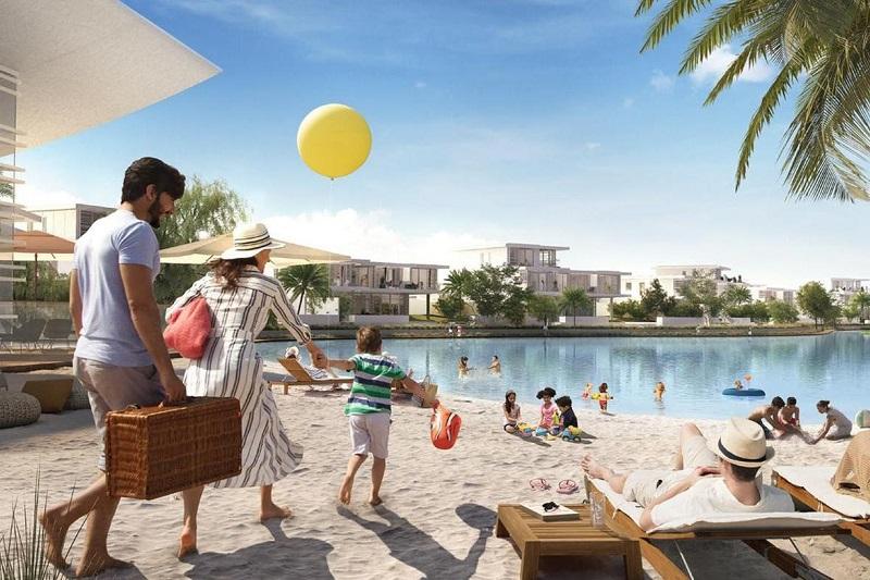 ELAN Townhouses Tilal Al Ghaf by Majid Al Futtaim beach playground