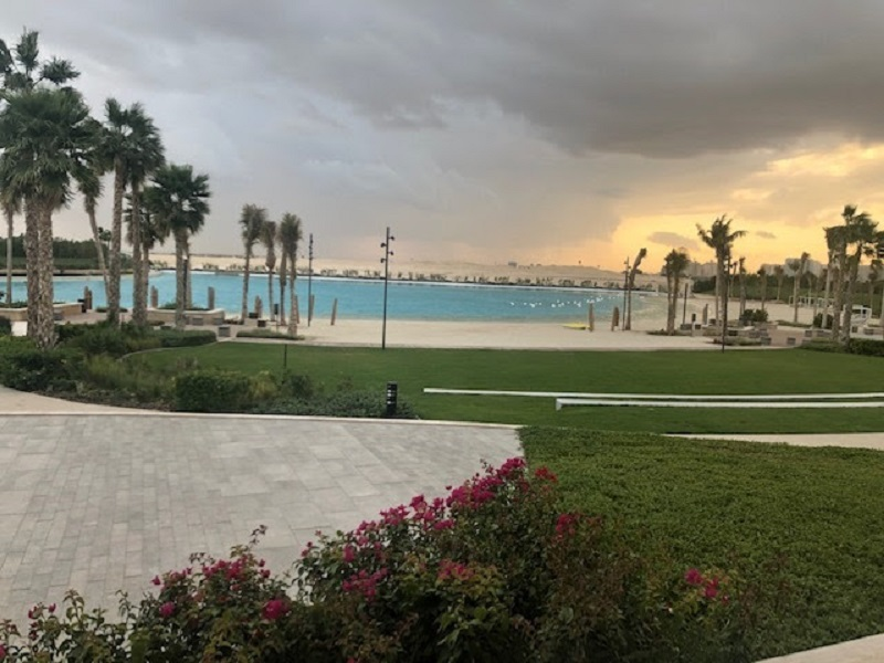ELAN Townhouses Tilal Al Ghaf by Majid Al Futtaim beach