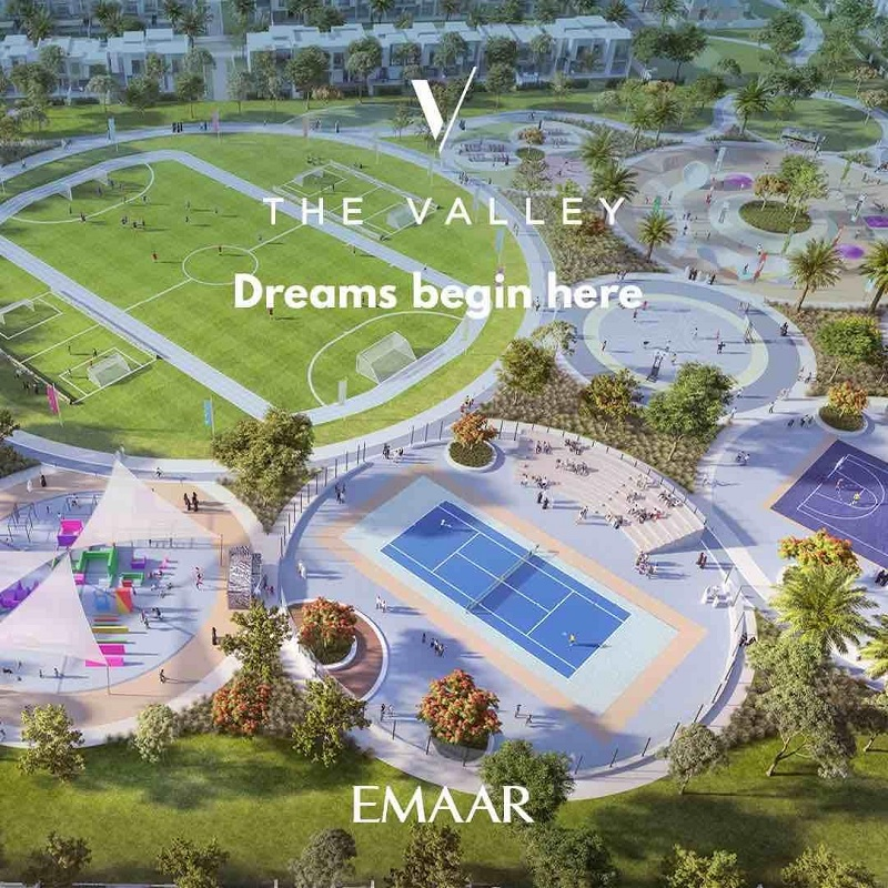Eden at the Valley townhouses by Emaar