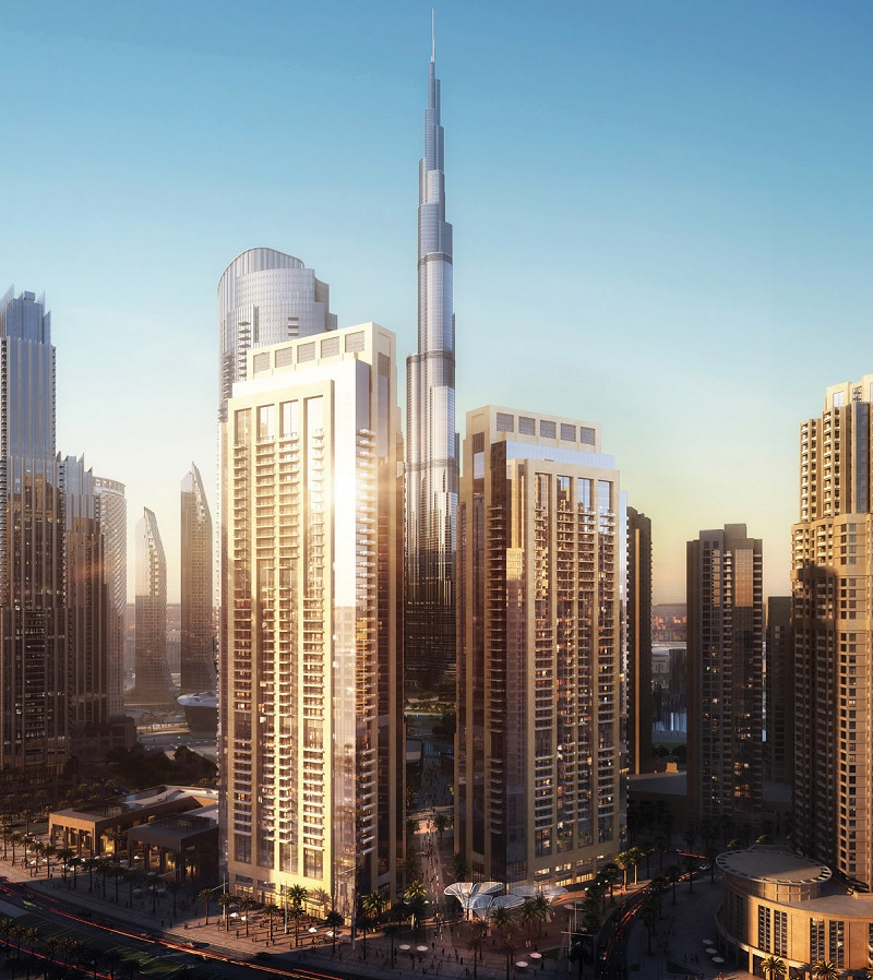 Act One Act Two in Downtown Dubai apartments by Emaar