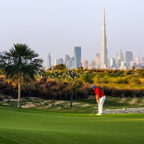 Emerald Hills at Dubai Hills Estate - Golf course