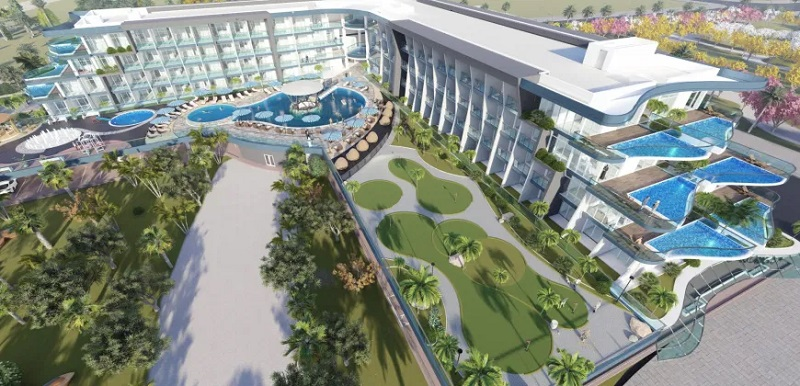 Samana Golf Avenue at Dubai Studio City DSC