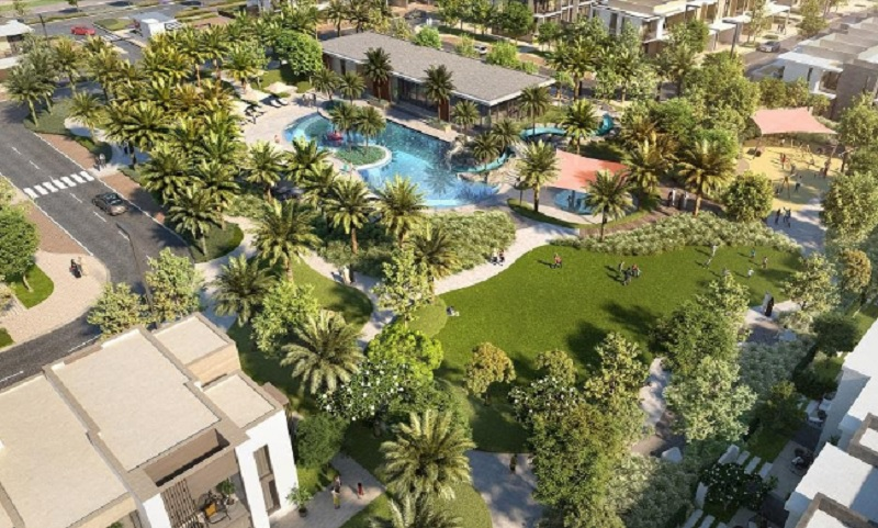 Ruba townhouses at Arabian Ranches III by Emaar