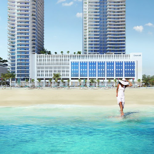 South Beach Waterfront Homes at Emaar Beachfront - Private beach access