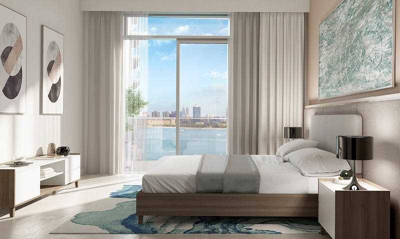 South Beach Waterfront Homes at Emaar Beachfront - bedroom