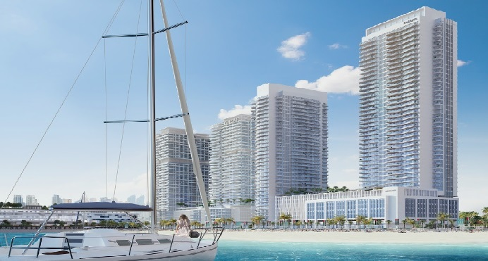 South Beach Waterfront Homes at Emaar Beachfront - featured
