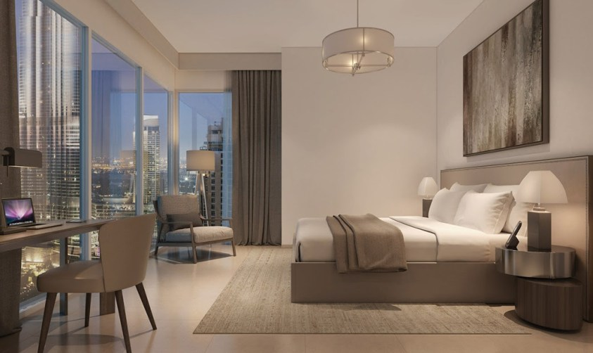 Act 1 Act 2 Residential Towers in Downtown Dubai - Bedroom