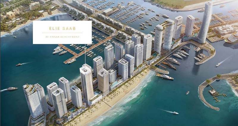 Elie Saab Grand Bleu Tower at Emaar Beach Front