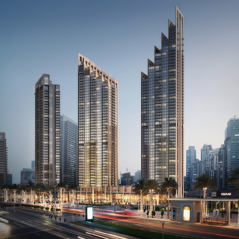 Blvd Height - Downtown Dubai Home Office by Emaar and DMCC