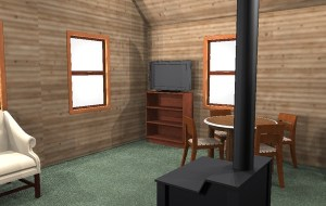Tiny house plans living area