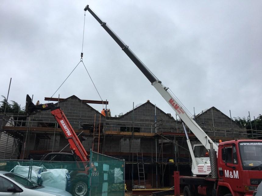 Week 11 Roof Steel Ridge Beams And Design Work