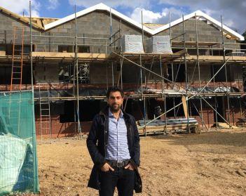 Jitin construction site