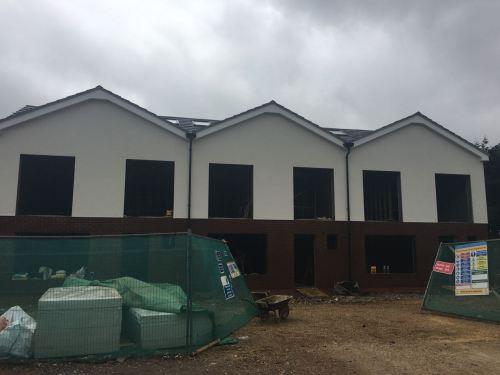 External building painted