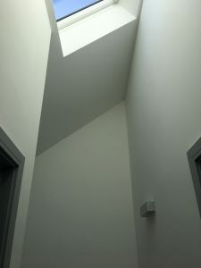 First floor landing velux