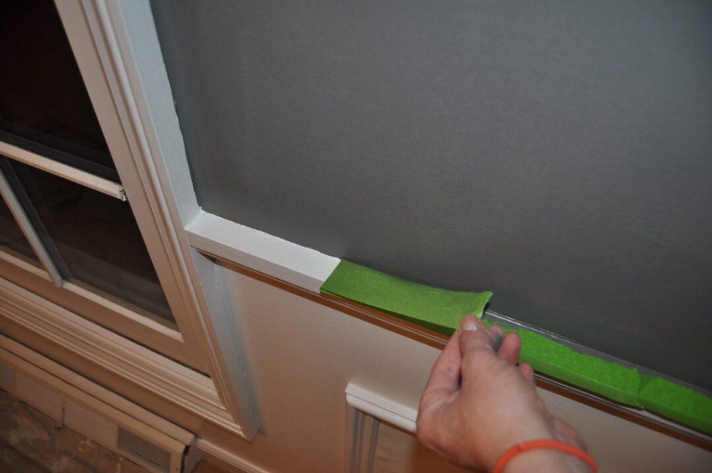 Crisp paint lines in your home | Building Bluebird