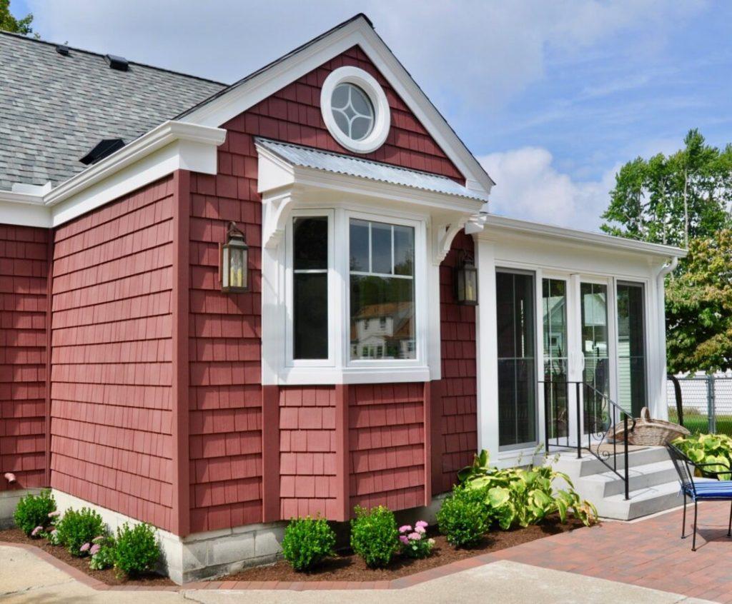 Exterior design of this Sylvania Airbnb rental